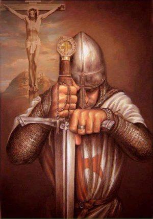 Los Templarios y La Cruz