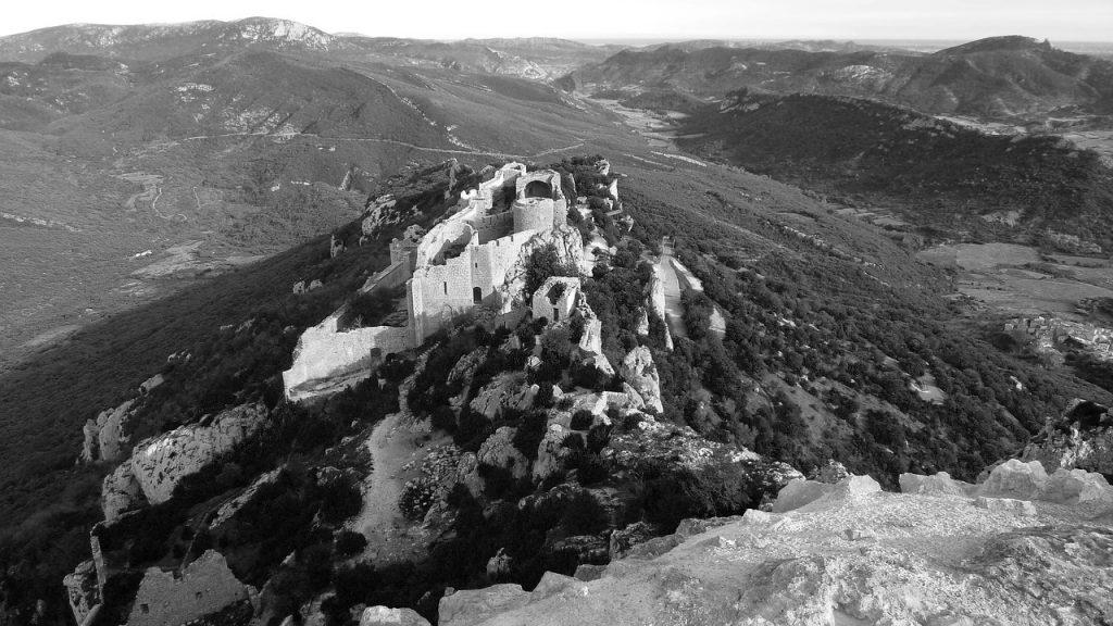 Castillo Cataro de Montsegur ( Francia )