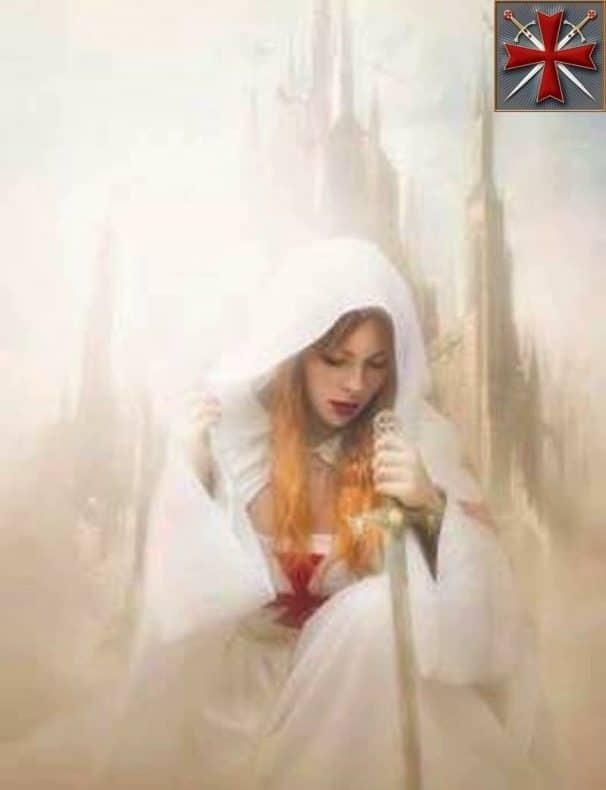divina dama templaria