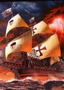 Los Caballeros Templarios en América