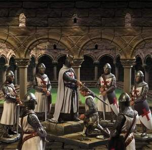 La Iniciación de Los Templarios