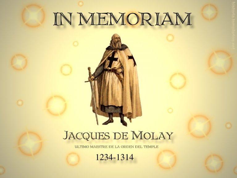non nobis gran maestre Jacques De Molay