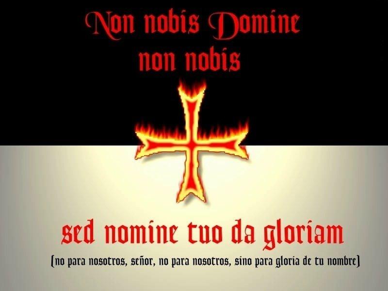 Los Caballeros Templarios. Baussant y Lema Templario.